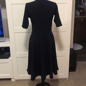 Black LuLaRoe nicole dress